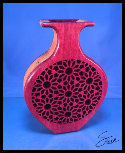 Scrollsaw Workshop Wooden Vases On The Scroll Saw Second Edition Is
