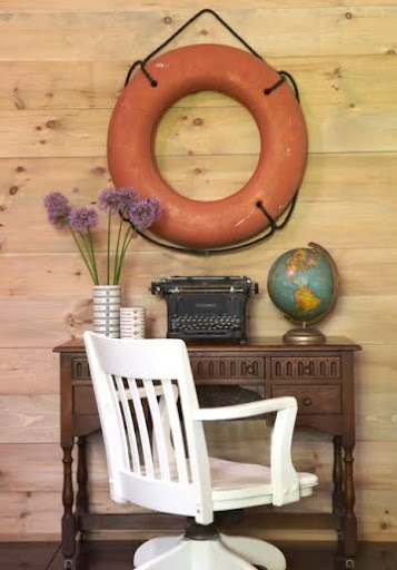 vintage life preserver ring