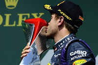 Sebastian Vettel menang di Canadian GP 2013