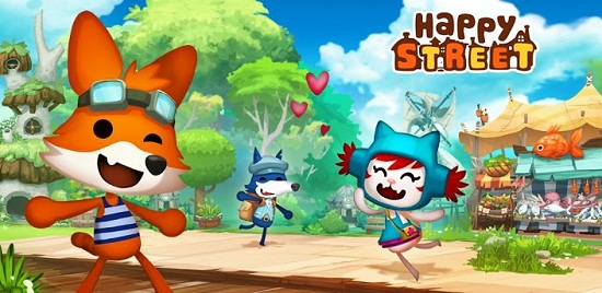 Happy Street for android google play iOS ipad, play games, download game