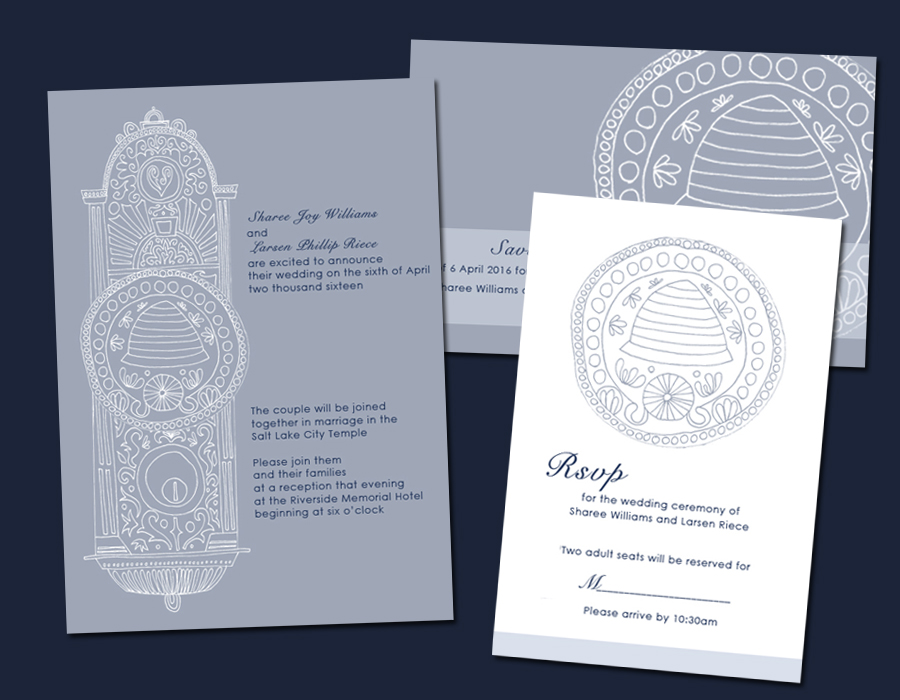 invitations for your lds temple wedding and lds wedding reception