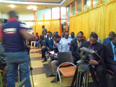 cross-section of participants at L4C conference