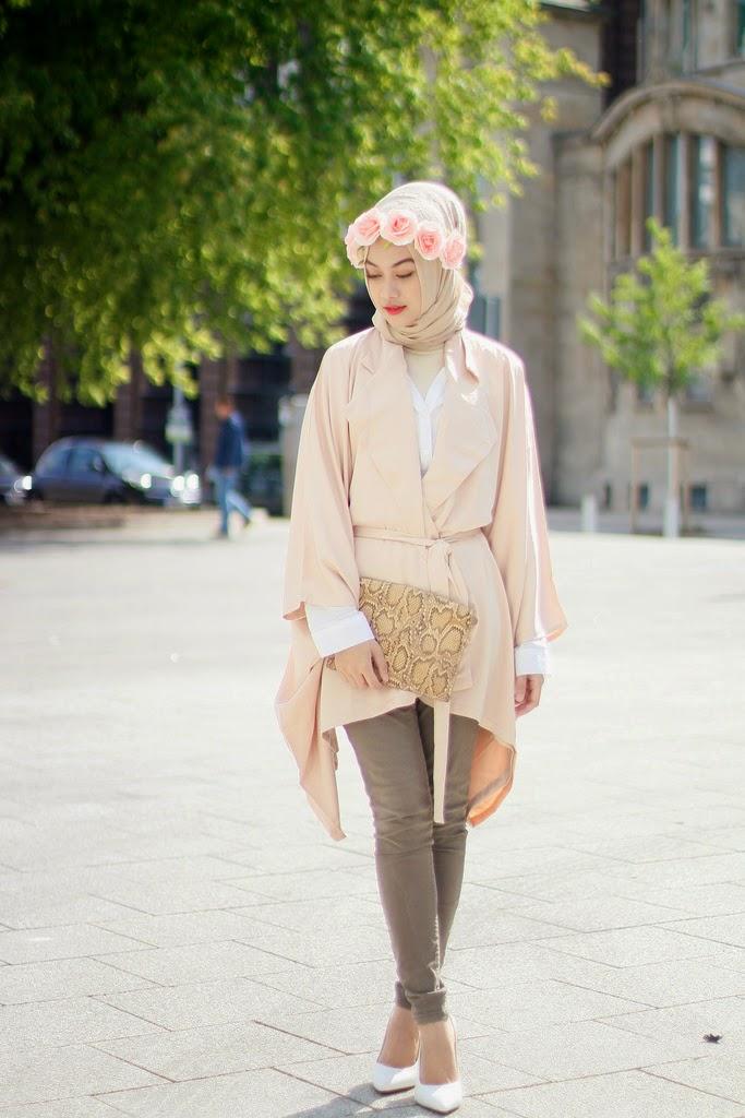 Model Hijab Terbaru Indah Nada Puspita Cantik Fashionable 2014