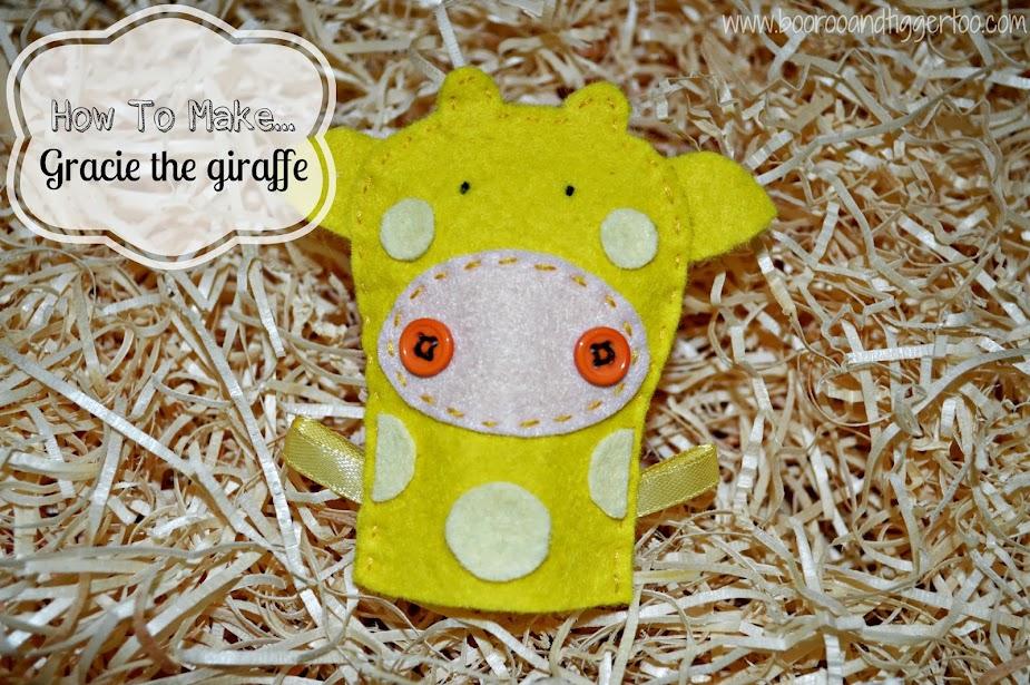 How To Make... Gracie the giraffe