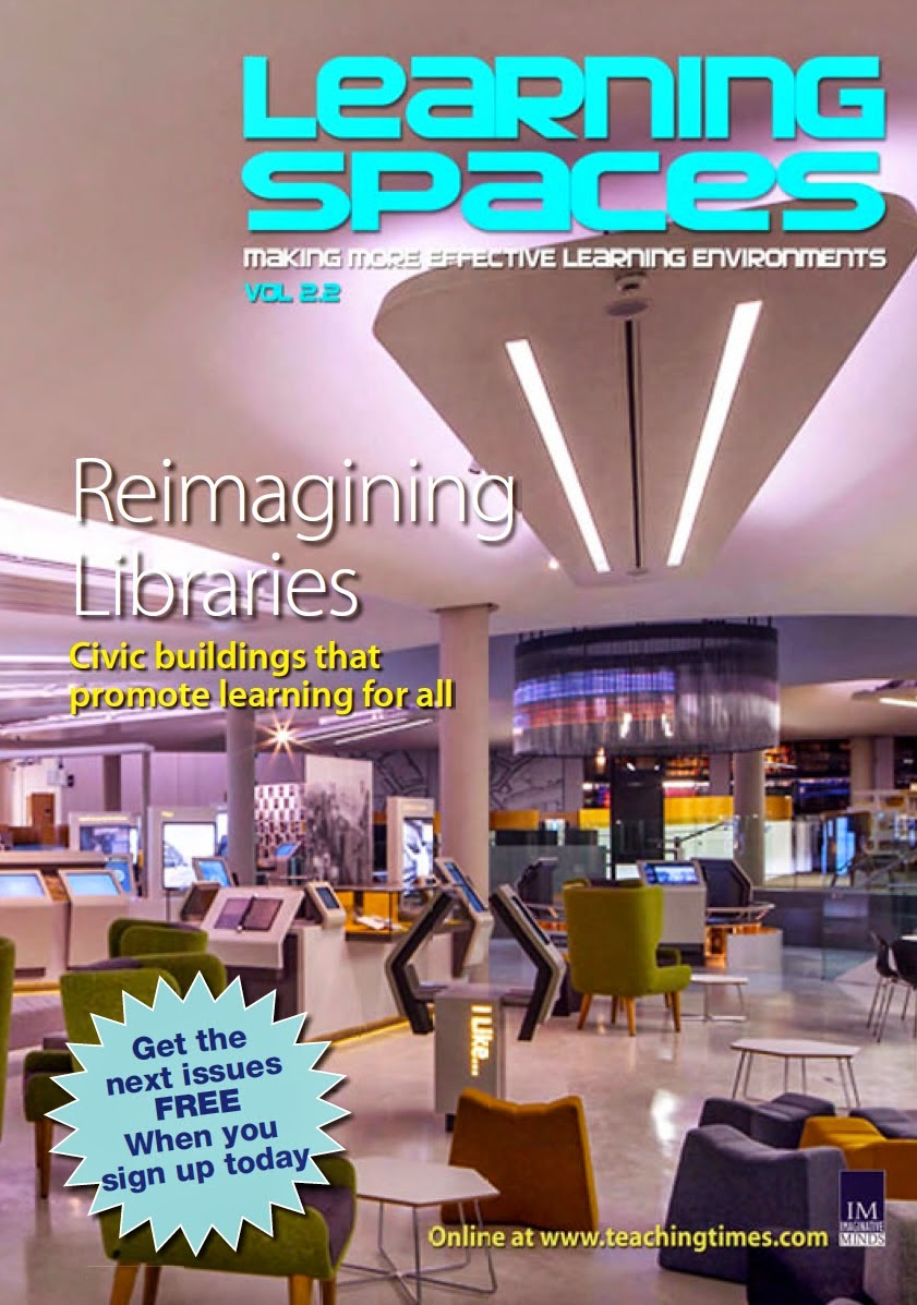 Gareth Long - Education: New FREE edition of Learning Spaces Magazinels magazine free