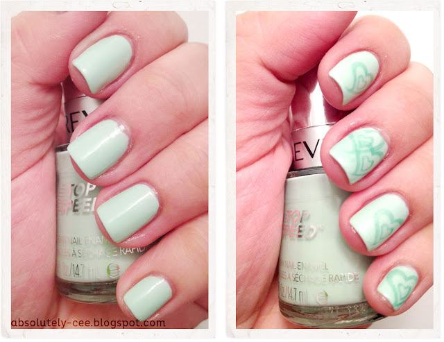 Revlon Jaded with Sinful Colors Mint Apple Hearts