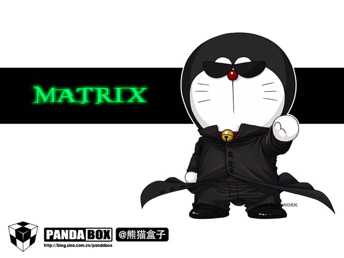 CosRain.Com DORAEMON's COSPLAY - MATRIX