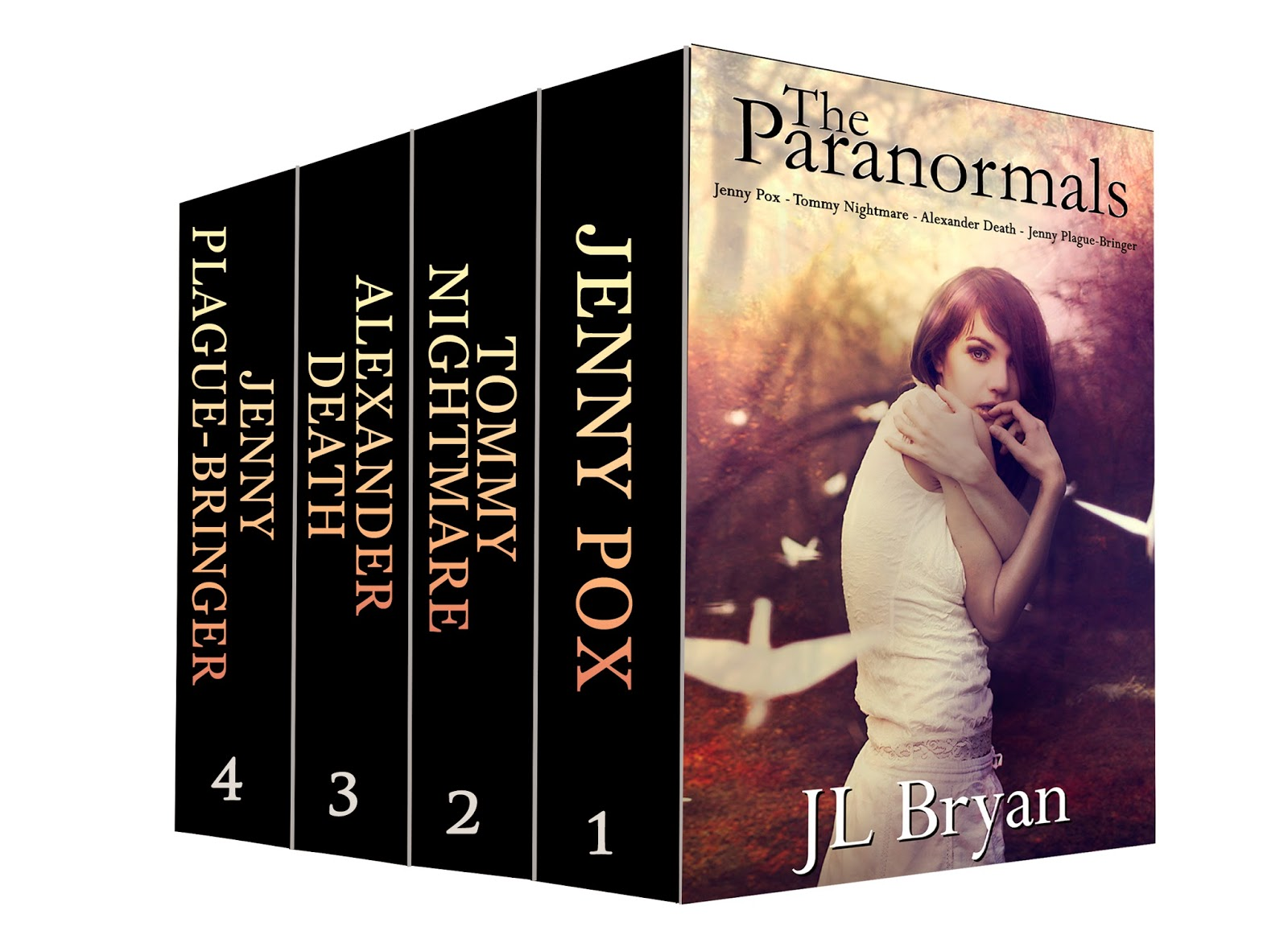 I've Recently Released Two Ebook Boxed Sets: One For The Entire Jenny Pox  Series, And One For The First Four Books In The Songs Of Magic Series!