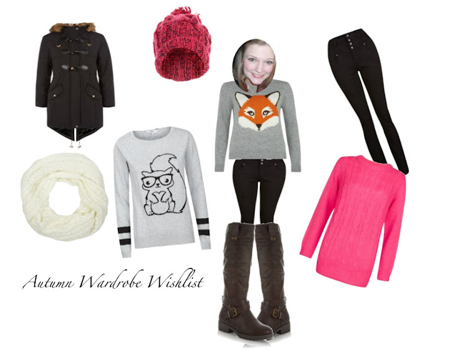 Image of My New Look Autumn Wardrobe Wishlist