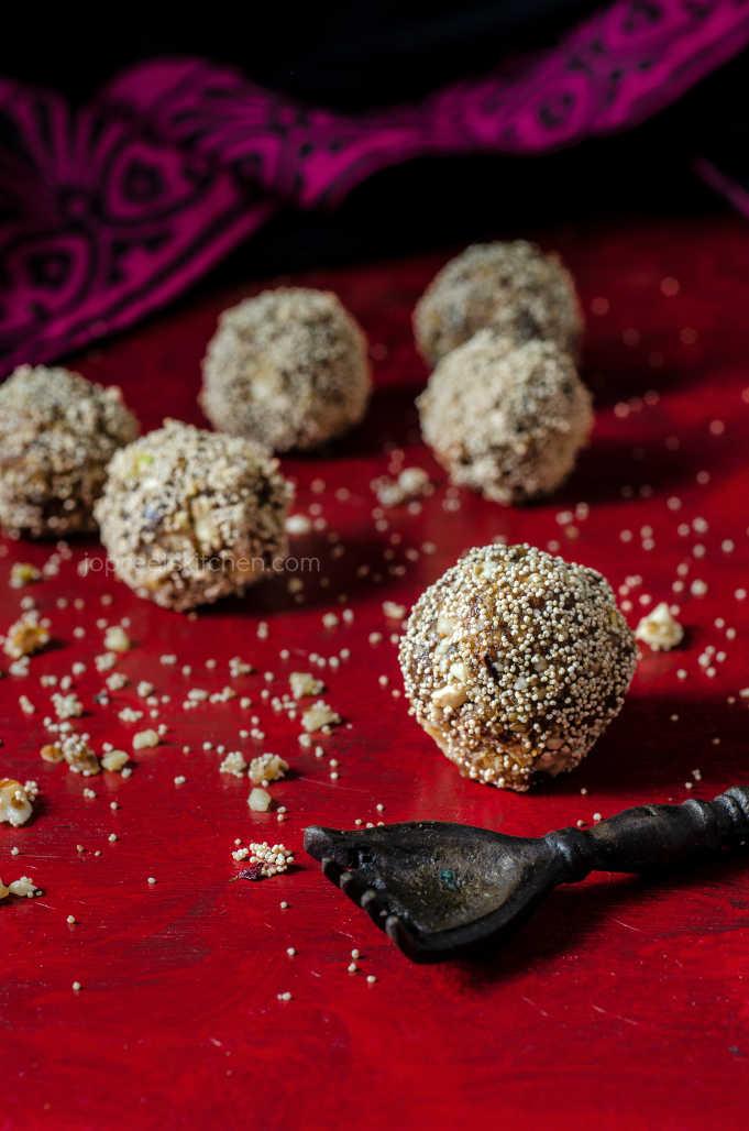 Dates & Nuts Ladoo / Dry Fruits Laddu Recipe