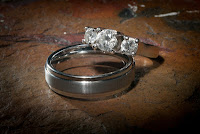 Katie and Christian's wedding rings - Patricia Stimac, Seattle Wedding Officiant