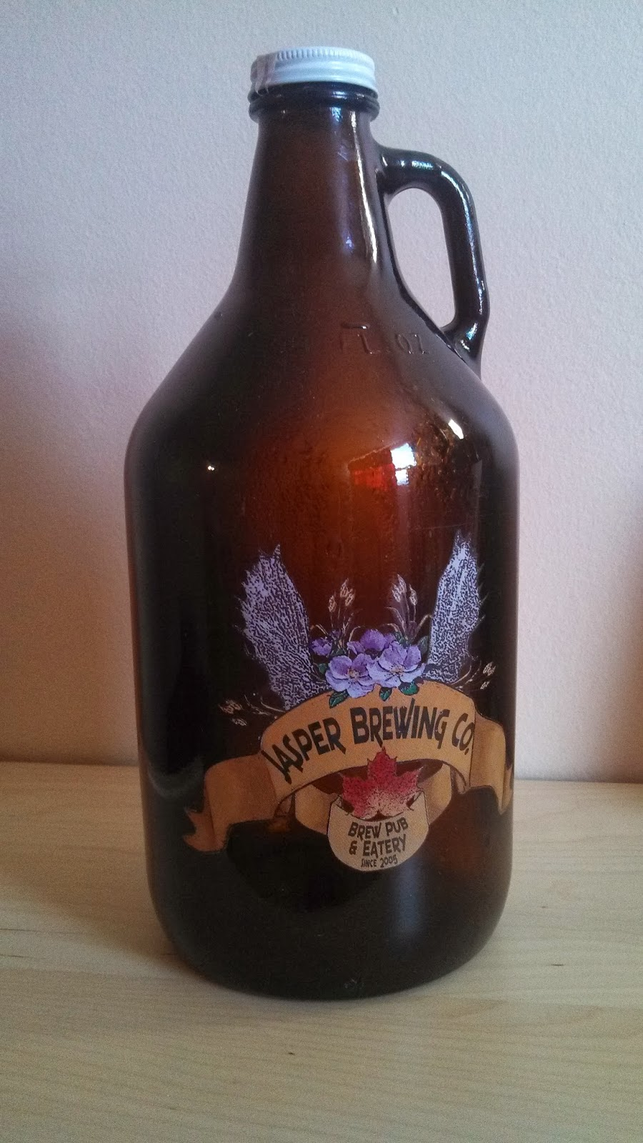a bittersweet finish growlers beer in bulk