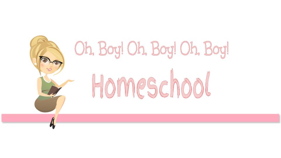 Oh, Boy! Oh, Boy! Oh, Boy! Homeschool
