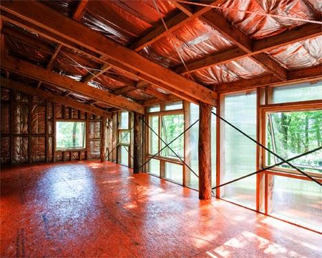 membangun studio panggung dari kayu tanpa keterampilan