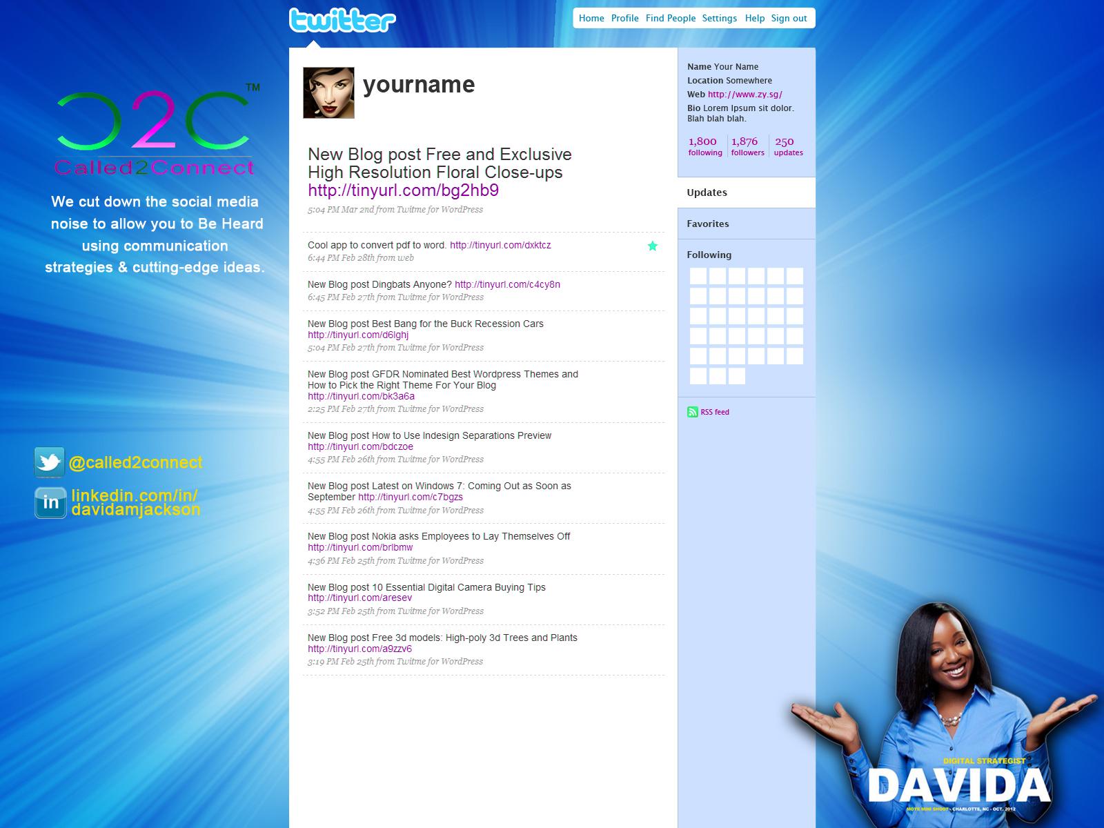 Prism Design Twitter Background