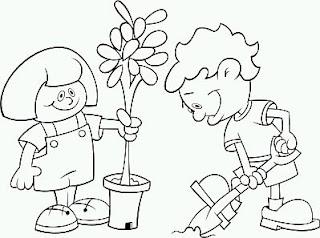 Dibujos del Medio Ambiente para Pintar, parte 1