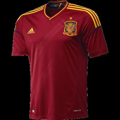 Moda Deportiva: Camiseta España Eurocopa 2012