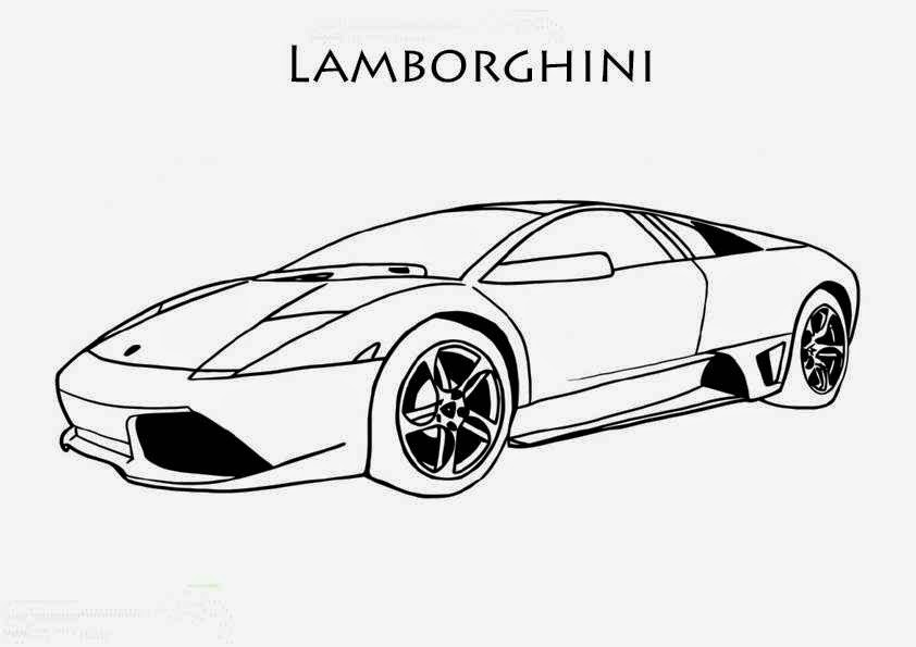 coloriage lamborghini galardo green coloriage voiture. Black Bedroom Furniture Sets. Home Design Ideas