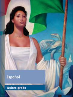 Libro de Texto Español Quinto grado Ciclo Escolar 2015-2016