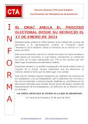 EL CMAC ANULA EL PROCESO ELECTORAL DESDE SU REINICIO EL 17 DE ENERO DE 2021