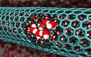 Increase in Disorder Leads Water to Fill Nanotubes