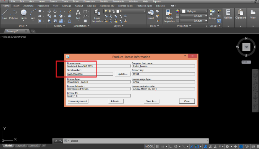 1. download autocad 2015 crack/keygen 32 bit/64 bit