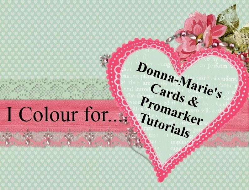 Donna-Maries Card and Promarker Tutorials