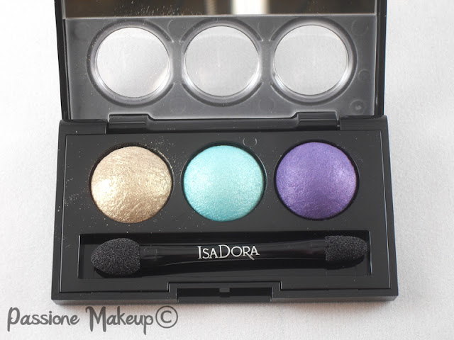 Isadora eyeshadow trio treasure island