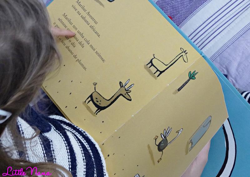 Hoy leemos Mariluz Avestruz cuento infantil libros para niños