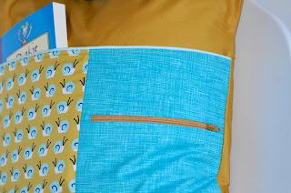 Leeskussen, diy, diy present, naaien, sewing, kussen