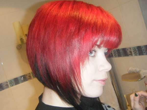 Make Up By Bextacy New Bright Red Hair