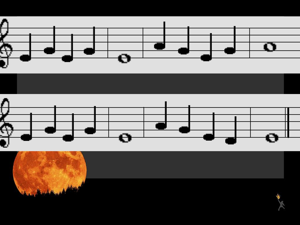Learn Me Music: Halloween Song for Recorder: Minor Tonality and ...