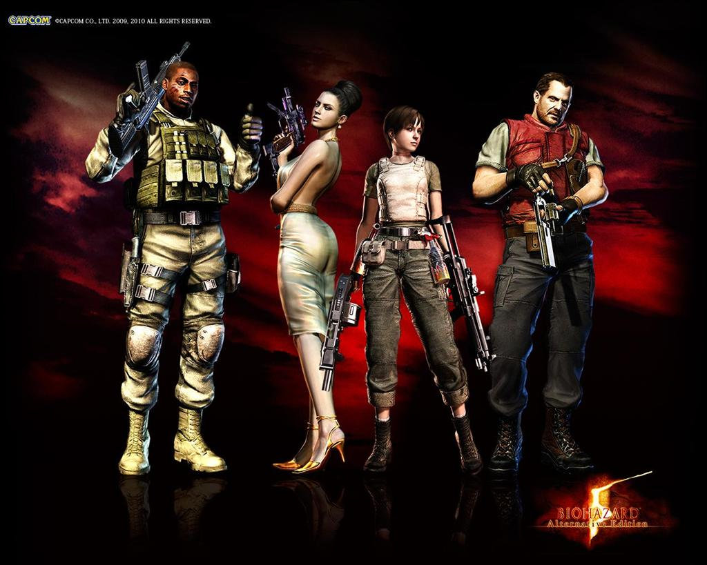 Resident Evil HD & Widescreen Wallpaper 0.958223696064345