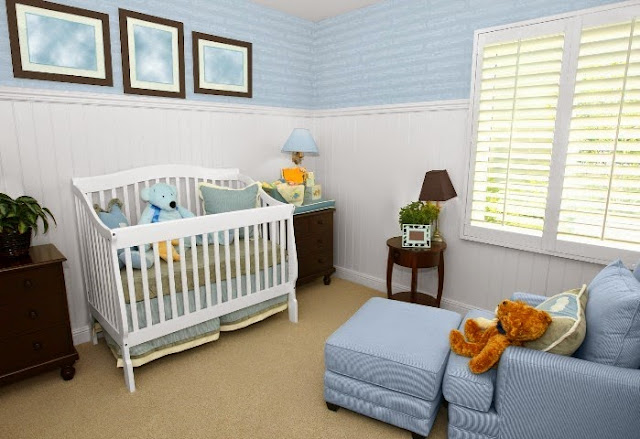 get ideas for baby's nursery wall colors