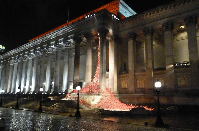 Weeping Window poppy installation
