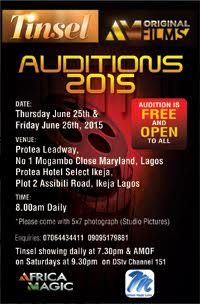 Tinsel Auditions