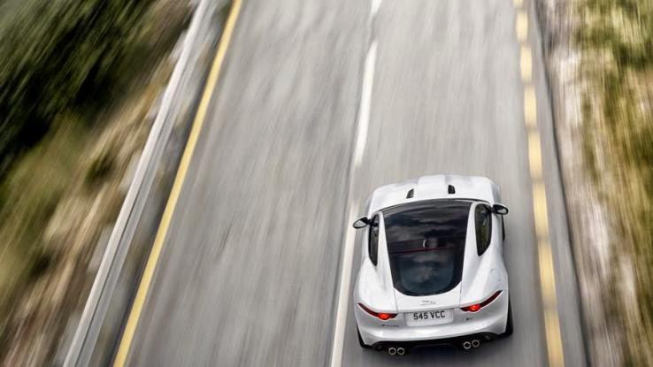 2015 Jaguar F-Type Coupe drive review
