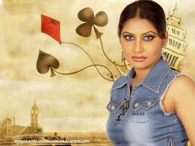 Bangladeshi model Farah Ruma