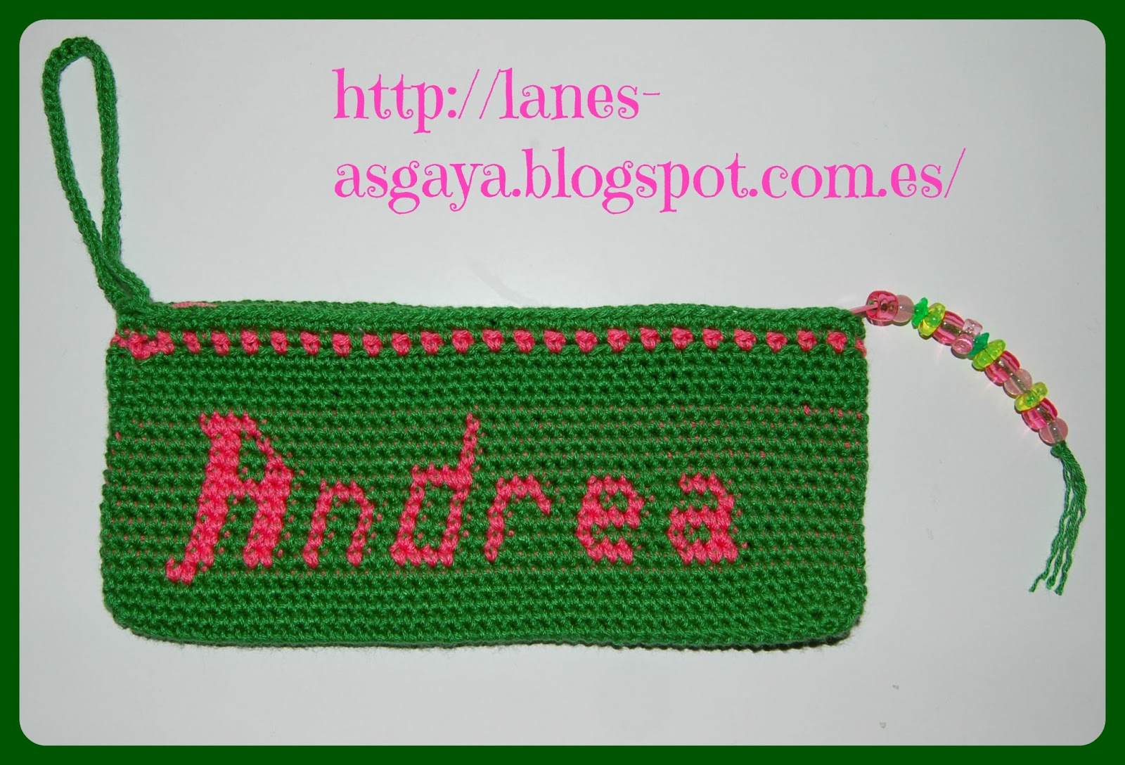 lanes asgaya: ESTUCHE A TAPESTRY CROCHET