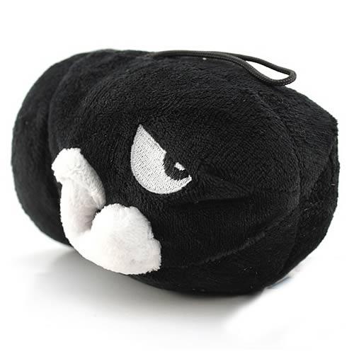 Super Mario Bros. Bullet Bill Plush
