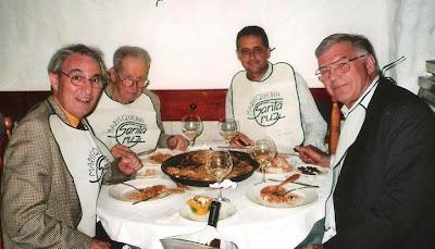 José María Gutiérrez Dopino, Yuri Averbaj, Josep Alió y el Dr. Thomas H. Thomsen en 2009 en Valencia