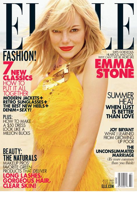 emma stone blonde. Emma Stone: Blonde Riot Girl