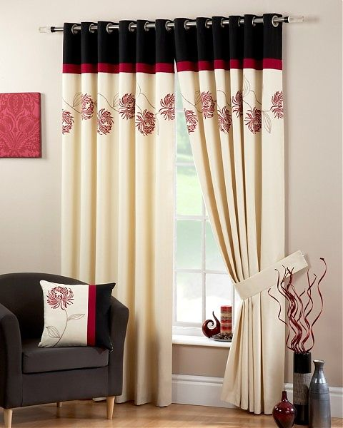 Eyelet Curtains Ideas For Living Room - Home Interior House Interior