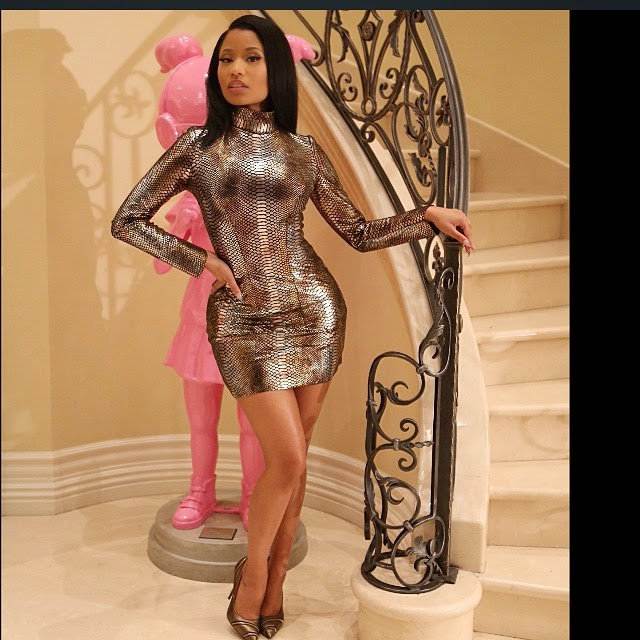 Check Out Nicki Minaj's Astonishing New Look