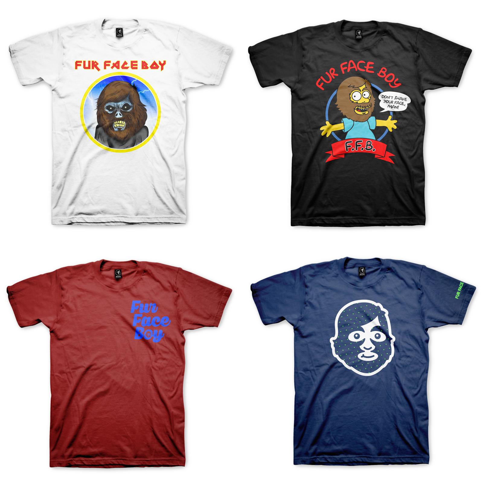 Fur Face Boy 4.0 T-Shirt Collection Series 1