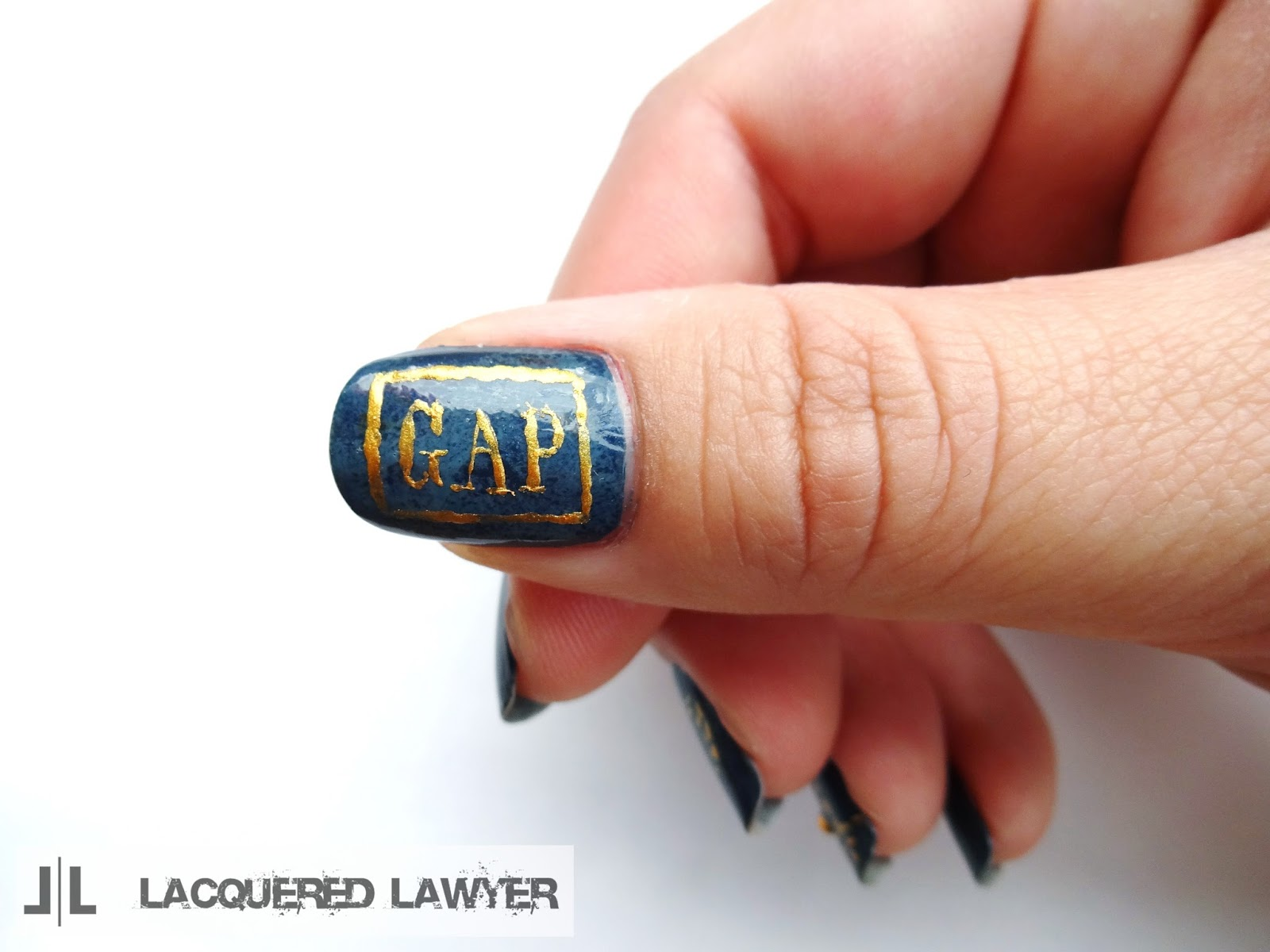Gap Nail Art