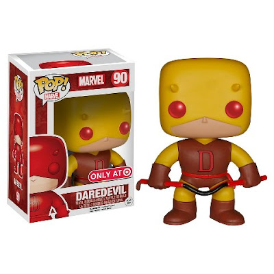 Target Exclusive Original Yellow & Red Costume Edition Daredevil Marvel Pop! Vinyl Figure by Funko