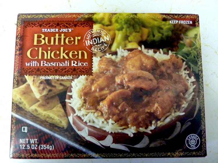 ... Good at Trader Joe's?: Trader Joe's Butter Chicken with Basmati Rice