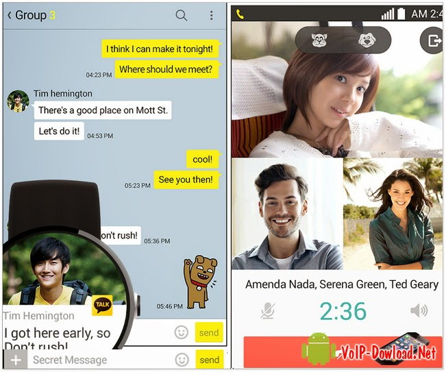 Download KakaoTalk Apps