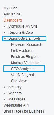 How to use Bing Seo Analyzer | 101helper